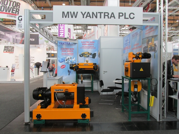 MV Yantra will participate in  CeMat 2014