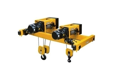 Double rail crane trolleys
